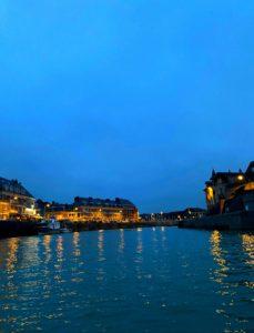 Port st valery nuit