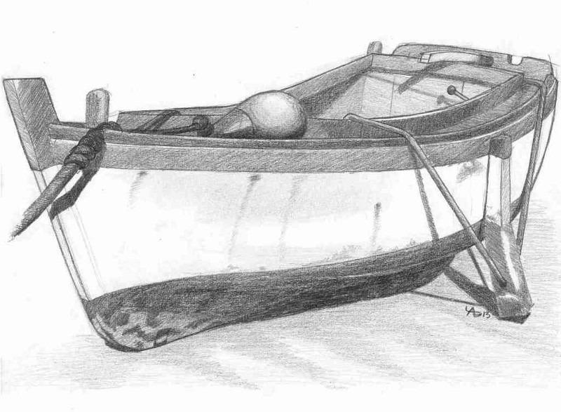 Barque dessin