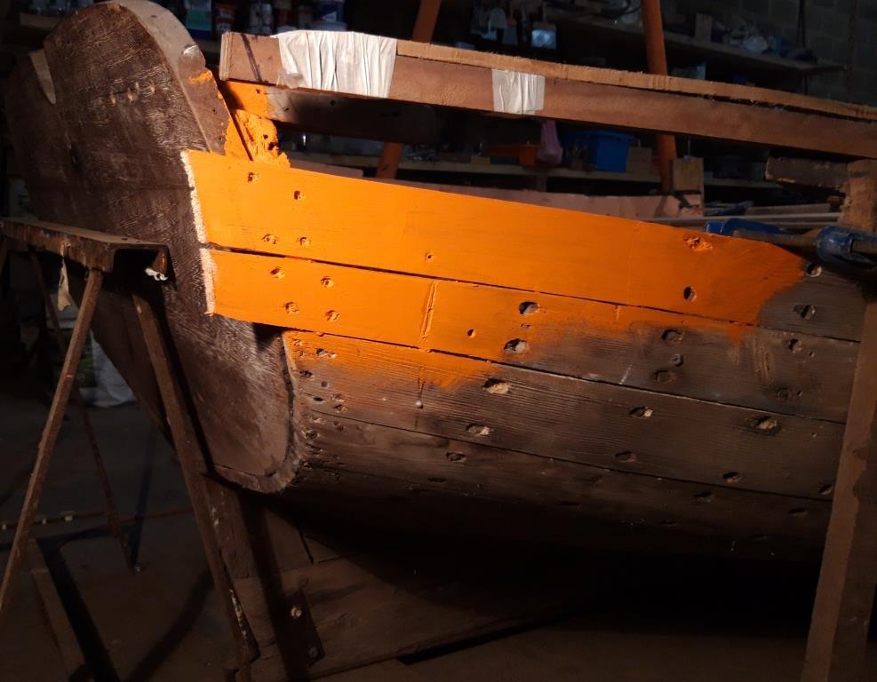 restauration barque