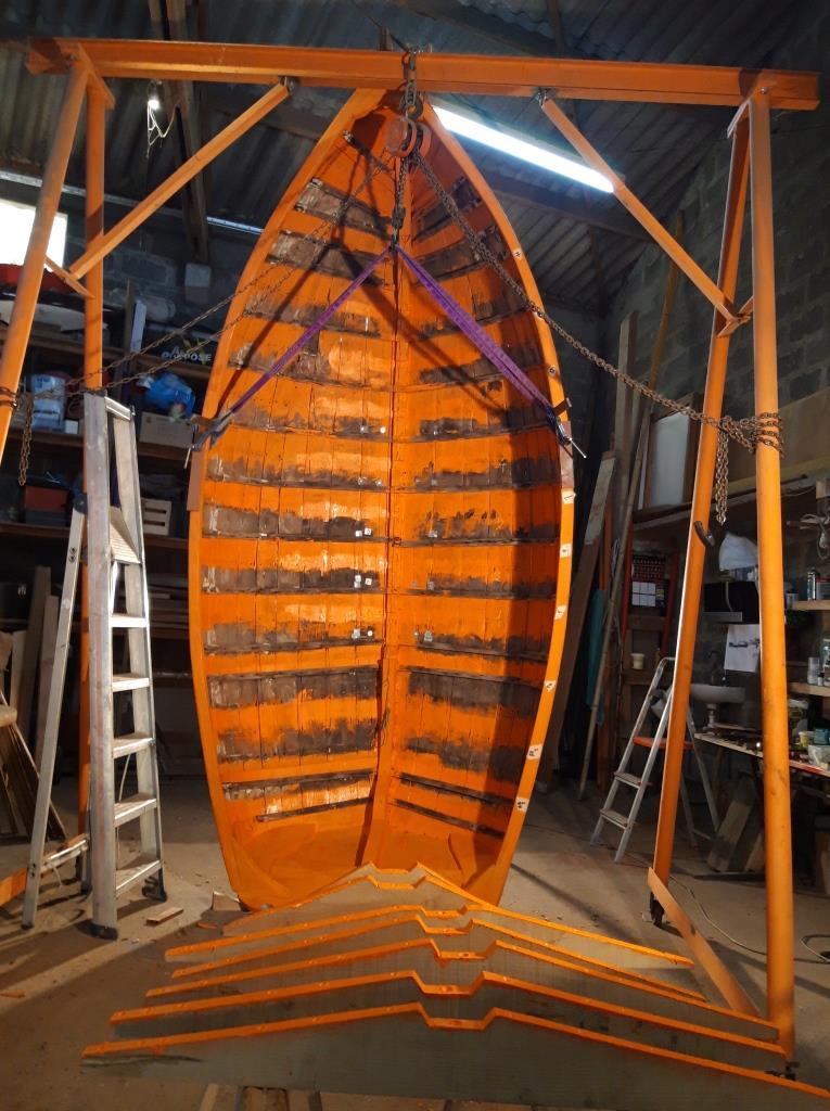 barque traditionnelle restauration
