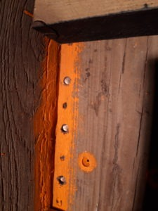 clous cuivre barque