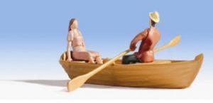 promenade rames en barque
