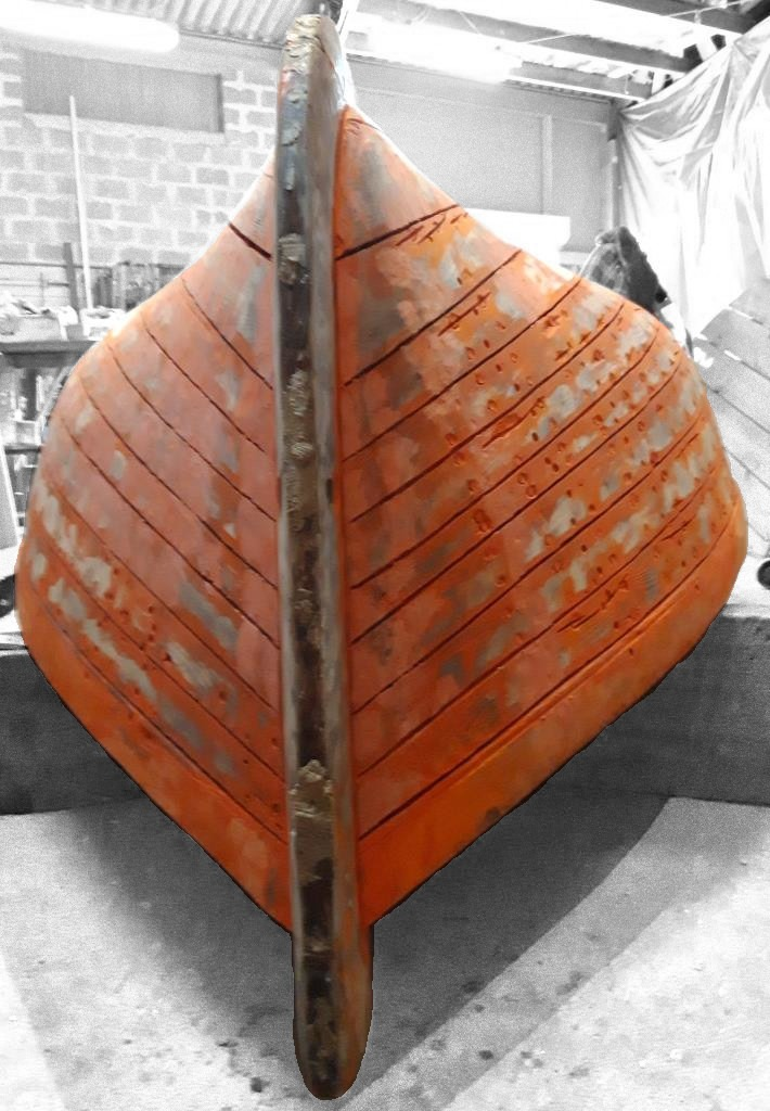 barque en restauration
