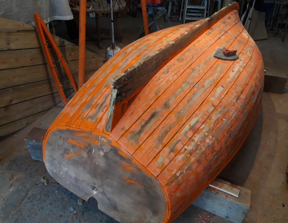 barque retournée